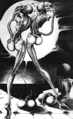 Ганс Рудольф Гигер. Атомные дети