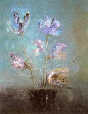 Мануэль Баеза. Цветы 1