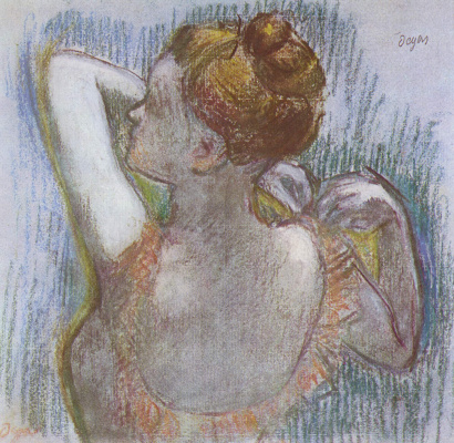 Edgar Degas. Dancer