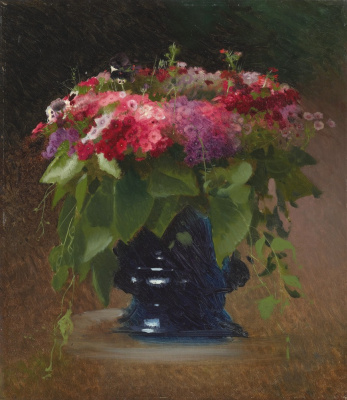 Ivan Nikolayevich Kramskoy. A bouquet of flowers. Phlox