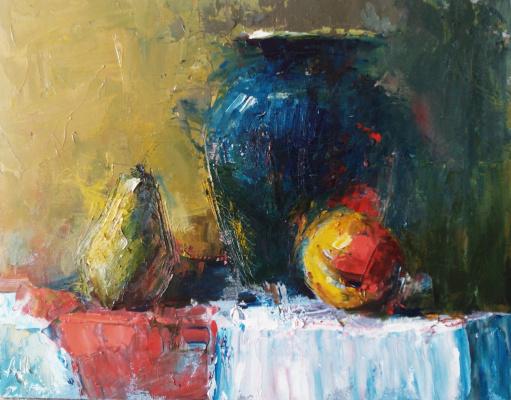 Андрей Шевчук. Синяя ваза.