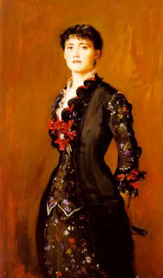 John Everett Millais. Louise Jane Jopling (née Goode, later Rowe)