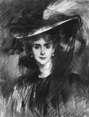 John Singer Sargent. Olga, Baroness de Meyer