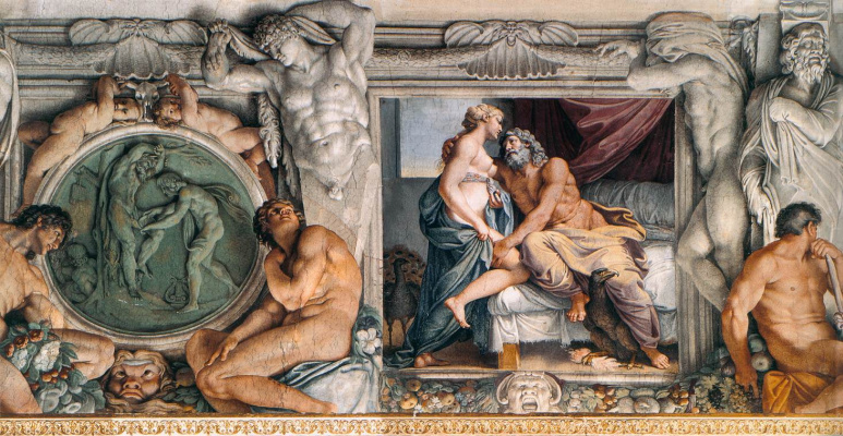 Annibale Carracci. Jupiter and Juno
