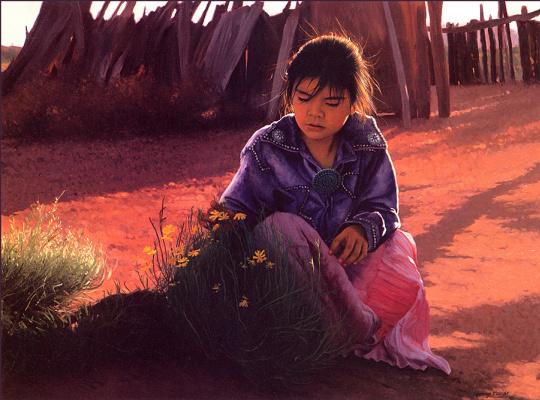 Джордж Молнар. Цветок пустыни