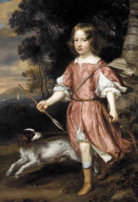 Ян Мейтенс. Портрет сына дворянина как амура