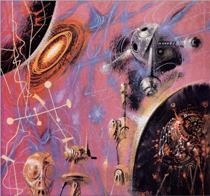 Ричард Пауэрс. Покорение космоса