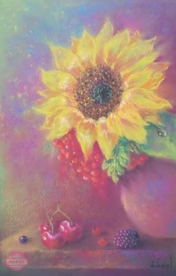 Amina. Happy sunflower