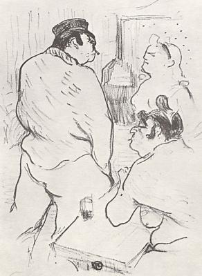 Henri de Toulouse-Lautrec. The Terror Of The Grenelle Grenelle