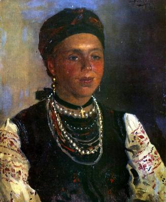 Владимир Егорович Маковский. Украинка