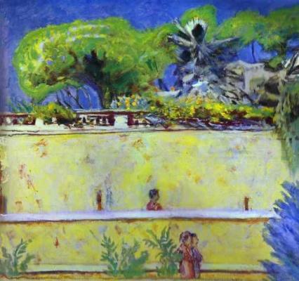 Pierre Bonnard. Terrace