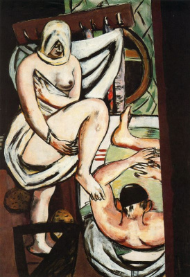 Max Beckmann. Bathing