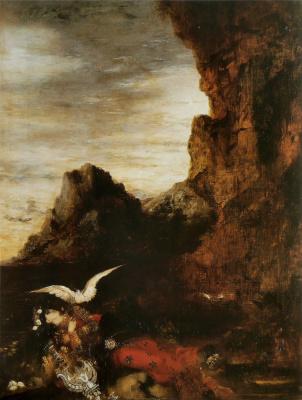Gustave Moreau. Death sappho