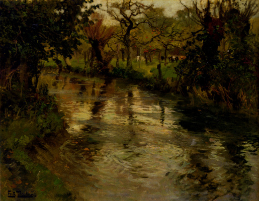 Frits Thaulow. Water