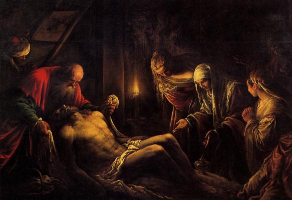Якопо да Понте. Снятие с креста