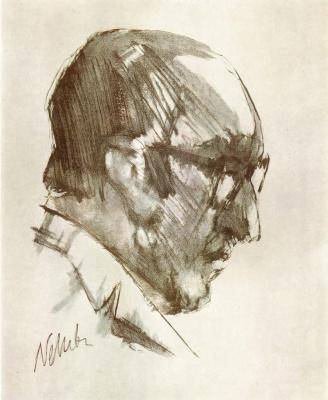 Владимир Максимович Соколов. Portrait of Pablo Neruda