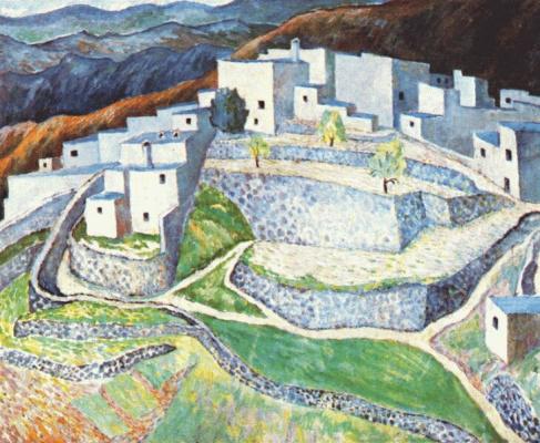 Горный город в Андалусии