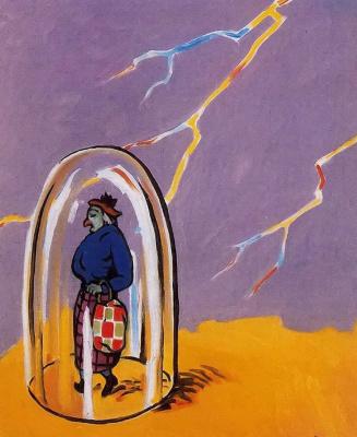 René Magritte. Tow plug
