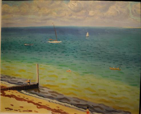 Albert Marquet. Beach