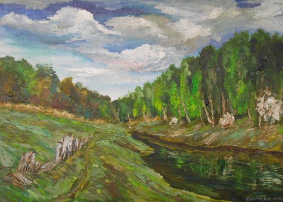 Владимир Иванович Осипов. Mouth of the Venevka River