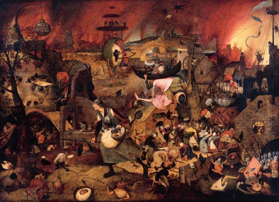 Pieter Bruegel The Elder. Dulle Griet (Dull Gret)