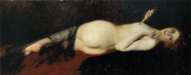 Constantino Barbella. Reclining Nude