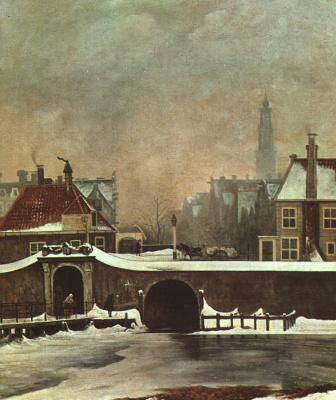 Вутер Йоханнес ван Труствийк. Холодная зима