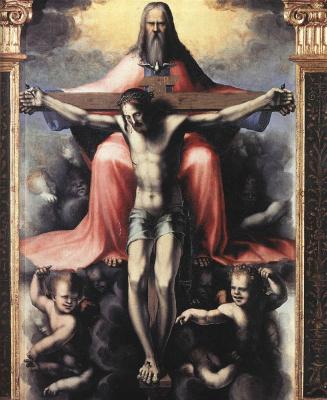 Domenico Beccafumi. Trinity