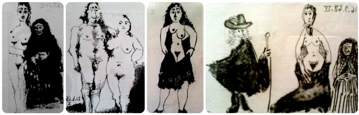Пабло Пикассо. Серия иллюстраций к La Celestina