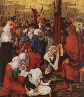 Денис Ван Алслут. Христос на кресте