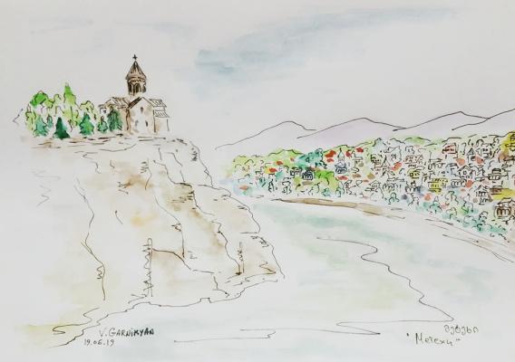 Vladimir Garnikyan. Metekhi. Old Tbilisi
