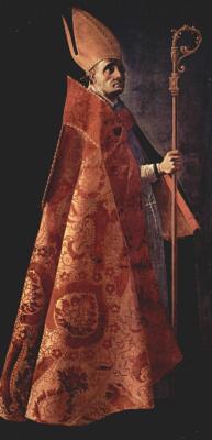 Франсиско де Сурбаран. Св. Амвросий