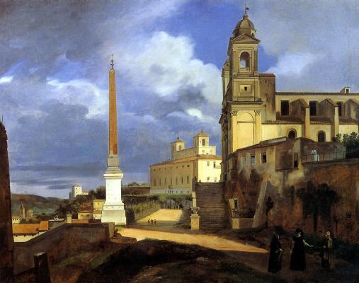 Церковь Тринита деи Монти в Риме