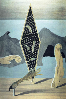 René Magritte. The collapse of the shadow