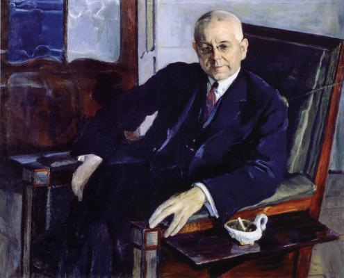 Mikhail Vasilyevich Nesterov. Portrait Of Nikolai Ivanovich Tyutchev
