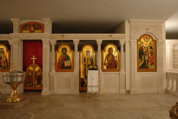 Иконостас Георгиевский собор в Одинцово