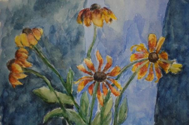 Zina Vladimirovna Parisva. Flowers No. 2