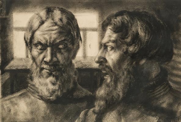 Двойной портрет Федора Шаляпина