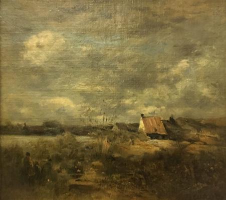 Camille Corot. Etude