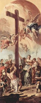 Себастьяно Риччи. Обретение Животворящего креста св. Еленой, эскиз