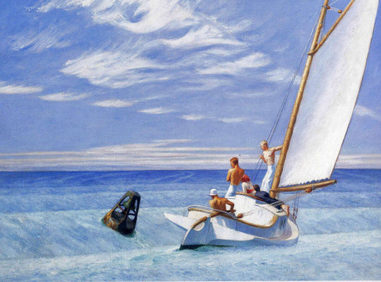 Edward Hopper. Ground swell