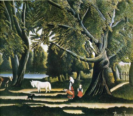Henri Rousseau. Summer
