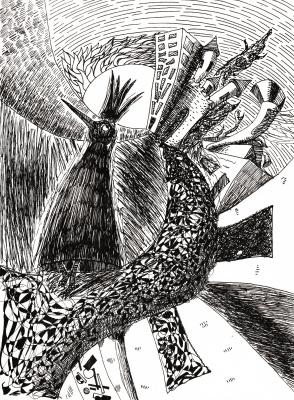 Пётр Великий. King raven