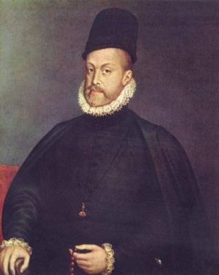 Алонсо Санчес Коэльо. Филипп II