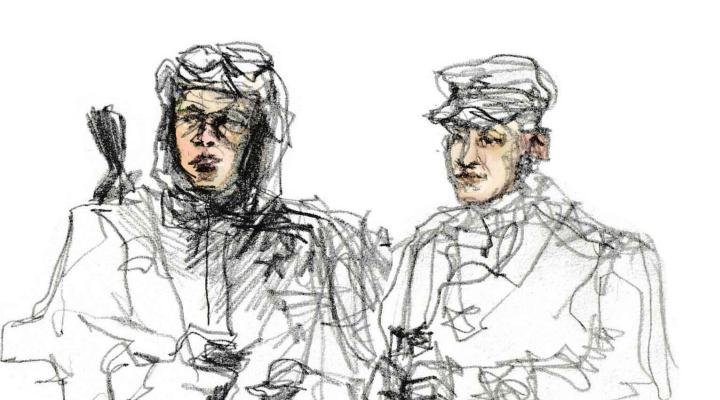 Miroslava Mikhailovna Yurochkina. Sketch