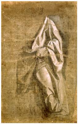 Леонардо да Винчи. Драпировка