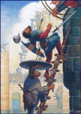 Джон Раш. Нападение на замок
