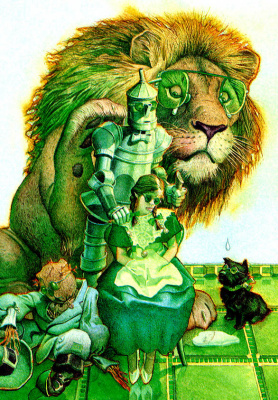 Чарльз Сантор. Зеленый лев