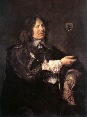 France Hals. Portrait Of Stephen Geerards