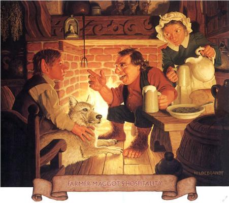 Тим Хильдебрандт. Гостеприимство фермера Мэггота